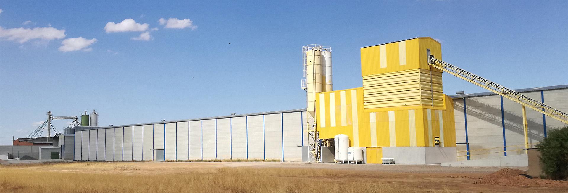 Fabrica de prefabricados de hormigón en Toledo